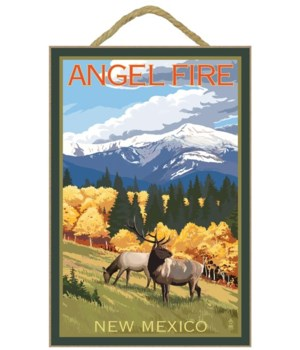 Angel Fire, New Mexico - Elk & Mountains