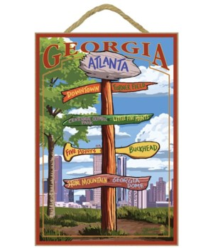 Atlanta, Georgia - Signpost Destinations