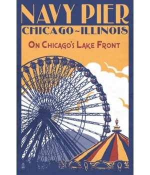 Chicago Illinois - Navy Pier - Lantern P