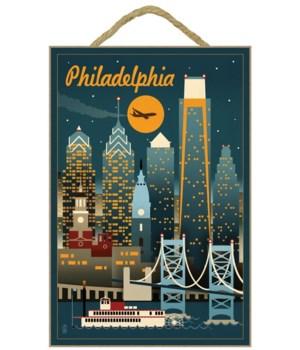Philadelphia, Pennsylvania - Retro Skyli