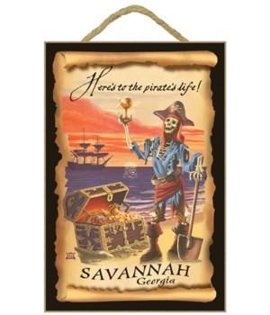 Savannah, Georgia - Pirate Plunder - Lan