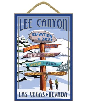 Lee Canyon - Las Vegas, Nevada - Ski Sig