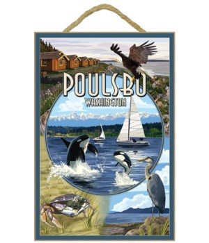 Poulsbo, Washington - Montage Scenes - L