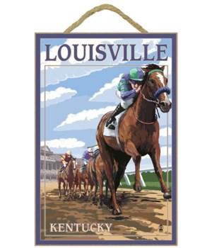 Louisville, Kentucky - Horse Racing Trac