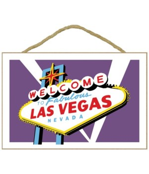 Las Vegas, Nevada - Welcome Sign - Lante