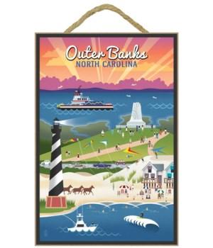 Outer Banks, north Carolina - Retro Scen