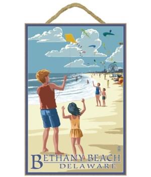 Bethany Beach, Delaware - Kite Flyers -
