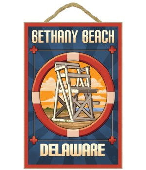 Bethany Beach, Delaware - Lifeguard Chai