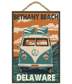 Bethany Beach, Delaware - VW Van Letterp