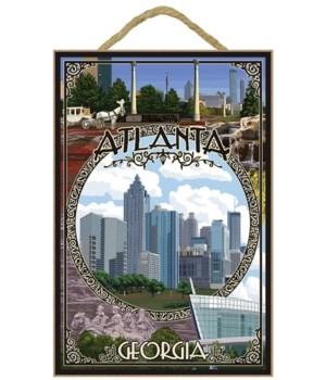 Atlanta, Georgia - Montage (F Flowers)