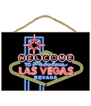 Las Vegas, Nevada - Neon Lights Welcome