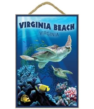 Virginia Beach, Virginia - Sea Turtle Sw