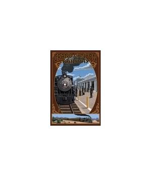 Grand Canyon Railway - Arizona - Train S