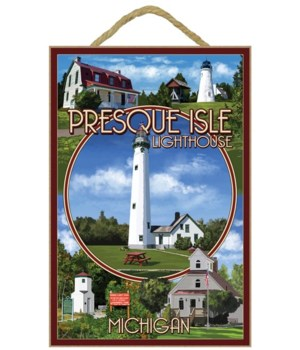 Presque Isle, Michigan - Lighthouse Mont