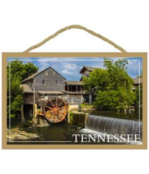 Tennessee - River Wheel house - waterfal