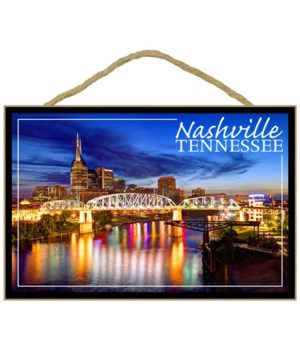 Nashville, Tennessee - Night - Lantern P