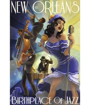 New Orleans, Louisiana - Jazz scene - La