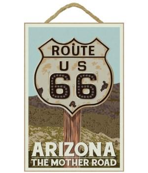 Arizona - Route 66 - Letterpress - Lante