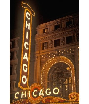 Chicago, Illinois - Chicago Theatre - La