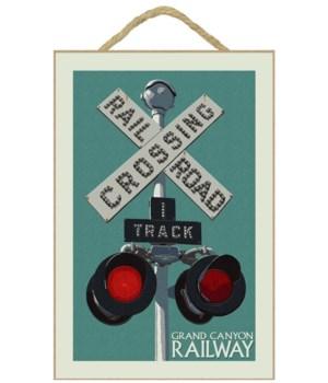 Grand Canyon Railway - Railroad Crossing