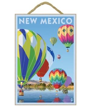 New Mexico - Hot Air Balloons - Lantern