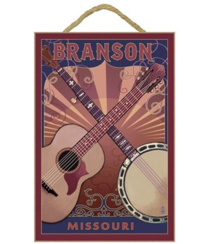 Branson, Missouri - Guitar and Banjo - L
