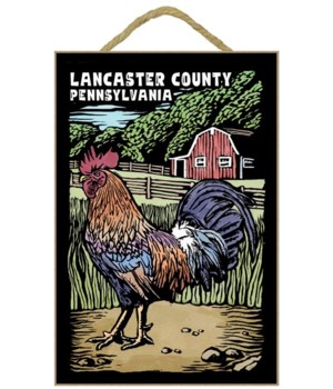 Lancaster County, Pennsylvania - Rooster