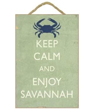 Keep Calm & Enjoy Savannah - Lantern Pre
