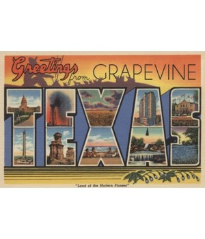 Greetings from Grapevine, Texas - Lanter