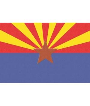 Arizona State Flag - Letterpress - Lante