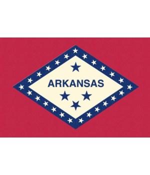 Arkansas State Flag - Letterpress - Lant