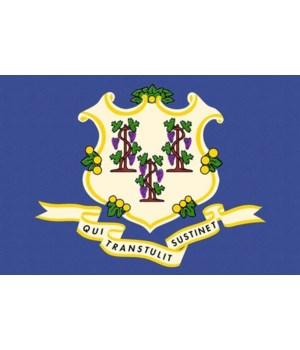 Connecticut State Flag - Letterpress - L