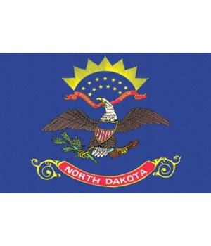 north Dakota State nolag - Letterpress -