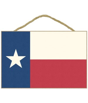 Texas Flag - Letterpress - Lantern Press