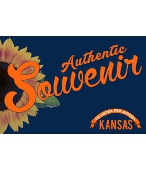 Visited Kansas - Authentic Souvenir