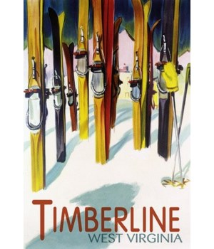 Timberline, WV - Colorful Skis