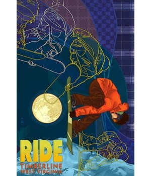 Timberline, WV - Timelapse Snowboarder