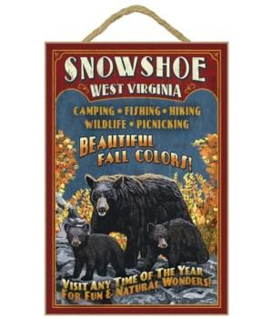 Snowshoe, WV - Black Bear Vintage