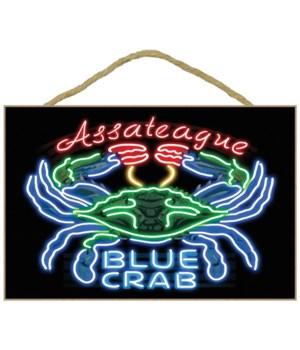 Assateague, Maryland - Blue Crab Neon Si