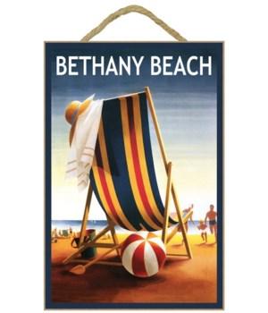 Bethany Beach, Delaware - Beach Chair an