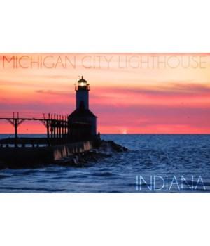 Indiana - Michigan City Lighthouse