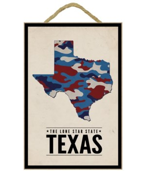 Texas - The Lone Star State - Camo State