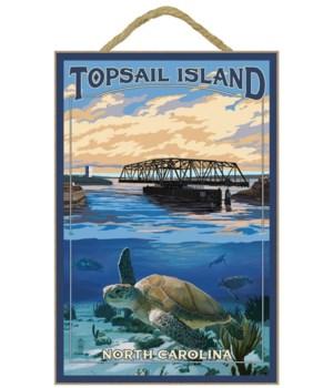 Topsail Island, north Carolina - Bridge