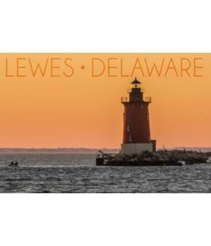 Lewes, Delaware - Seagulls - Lantern Pre