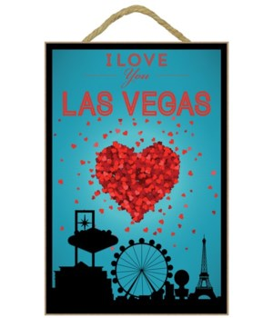 I Love You Las Vegas, Nevada - Lantern P