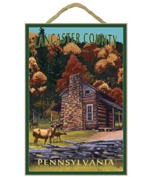 Lancaster County, Pennsylvania - Deer Fa