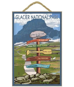 Glacier National Park - Going-To-The-Sun