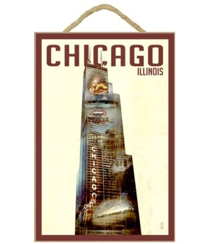 Chicago, Illinois - Willis Tower Double