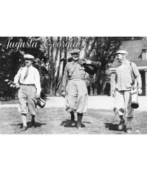 Augusta, Georgia - Men Heading out to th