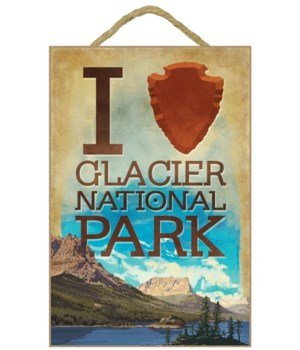 I Heart Glacier National Park, Montana -